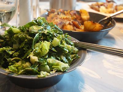 Hot fork buffet menu